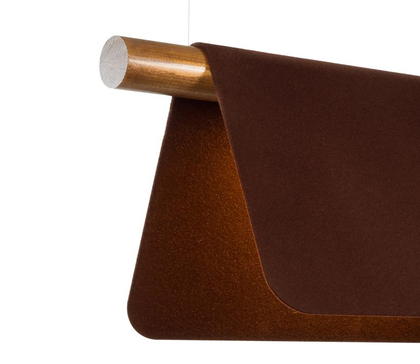 Bend 800 Brown Flock Closeup